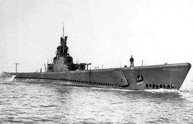 """解密二战美军传奇功勋潜艇:曾在日本本土""""击沉""""火车"""