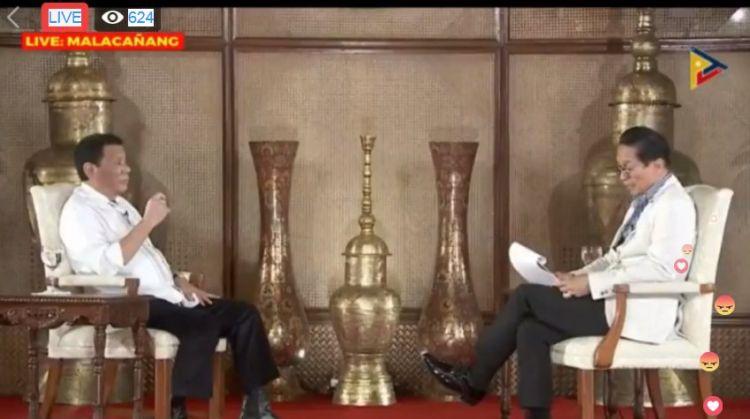 杜特尔特:反对派打算9月21日暗杀我 想要动手就要快