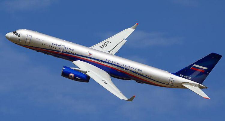 突然,美国无缘由禁止俄新型侦察机按开放天空条约执行飞行