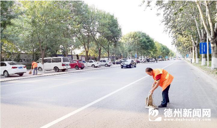 德州市区88条背街小巷整洁通畅