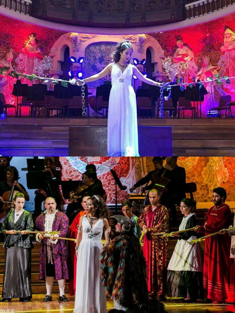 旅欧女高音歌唱家欧洲首演《魔笛》大获成功