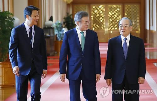 文在寅:将力推朝韩关系和朝美对话取得进展