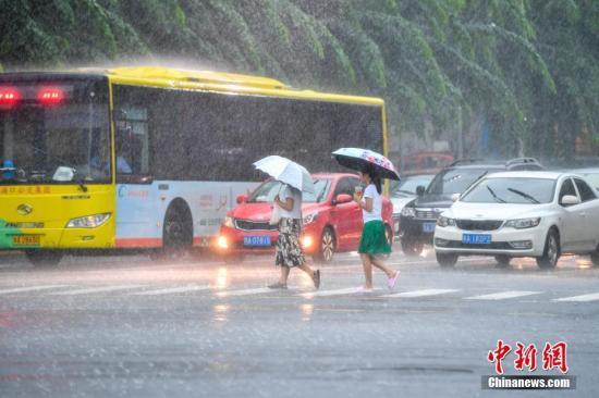 """台风""""山竹""""向西偏北方向移动 西南地区等地多降雨"""