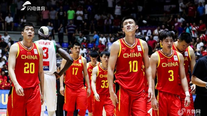2019男篮世界杯预选赛:黎巴嫩92-88中国男篮蓝队