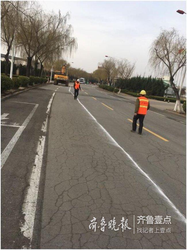 烟台开发区投资3200万改造7条道路 已全部完工通车