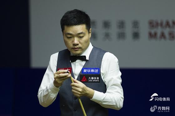 上海赛丁俊晖连扳5局后浪费赛点 9-10无缘决赛