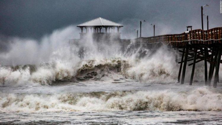 美国30年最强飓风登陆3日 已致至少11人死亡