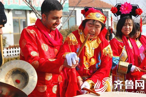 留学生体验传统文化