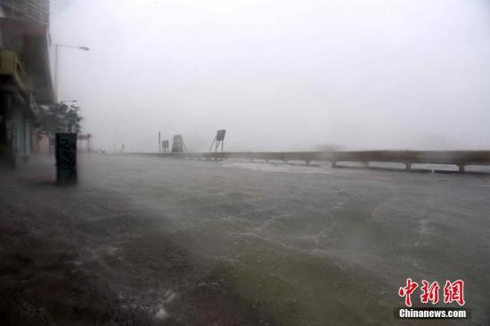 """台风""""山竹""""登陆 南方电网力保对港澳供电"""