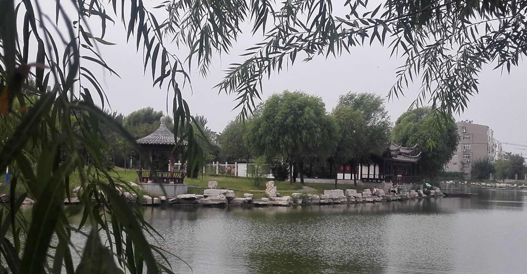 初秋,水城尽显园林之美