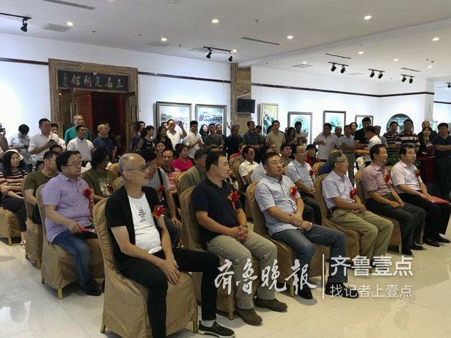冯晓东绘画作品展开展,展览持续至30日