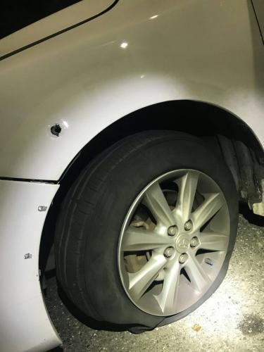 警方3枪打破车轮 台湾涉毒情侣开车加速逃终落网