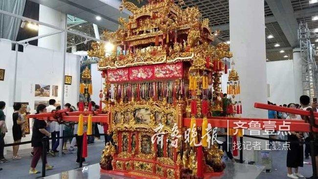 5天到场82万人次,第五届中国非遗博览会在济南闭幕