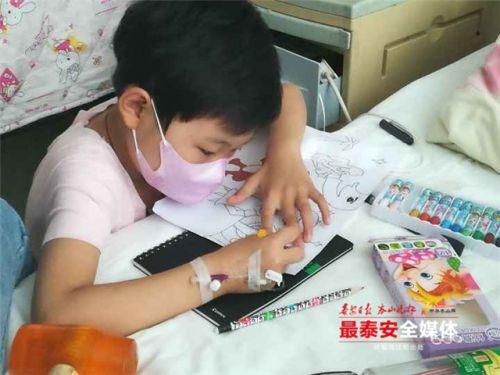 泰安:女儿白血病复发 他再次发出求助