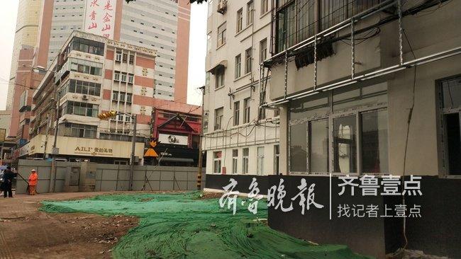 """泉城广场对面拆违新进展!""""大客厅""""对门干净了"""