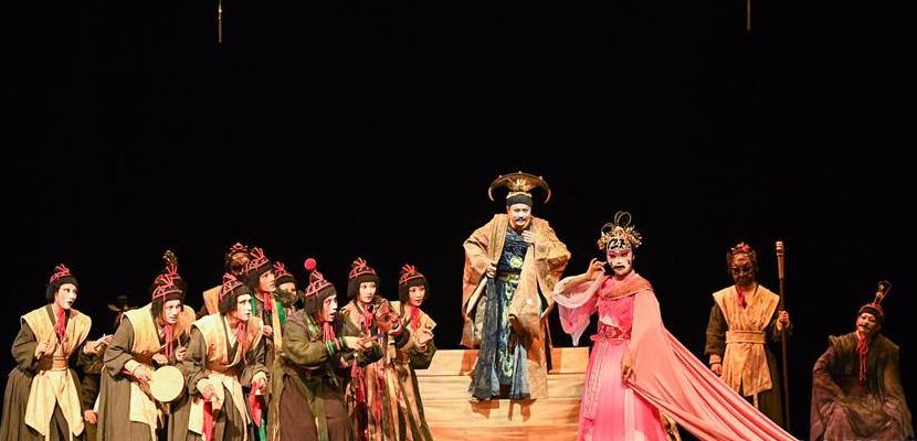 中国话剧《兰陵王》亮相开罗国际戏剧节