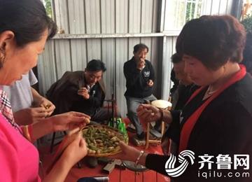 """喜迎首个中国农民丰收节!莱河镇许河村""""为村""""销售有招"""