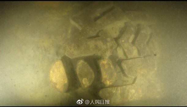 """""""经远舰""""被发现!甲午海战遗迹水下考古工作取得又一重大成果"""