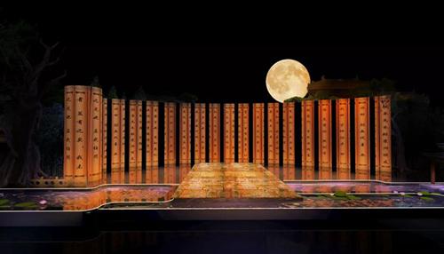 央视秋晚主会场准备就绪,全球华人今晚共赏尼山月光