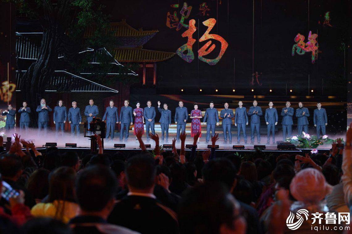 20年再聚首 《水浒传》原班人马演绎好汉歌