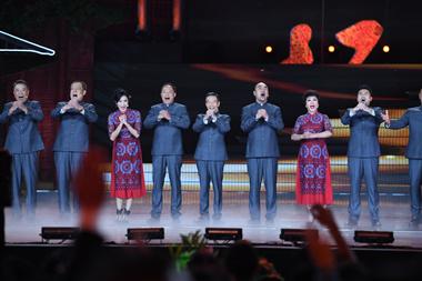 """20年再聚首 《水浒传》原班人马演绎""""好汉歌"""""""