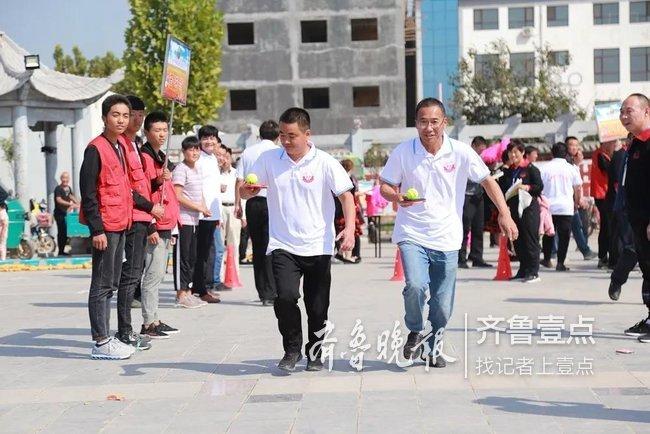 运动场上庆丰收,菏泽举办首届农民运动会