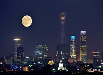 中秋佳节月亮圆 各地齐赏良辰美景圆月