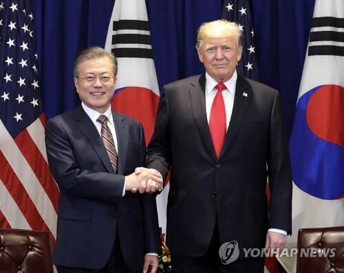 韩媒:韩青瓦台称韩美领导人就金特会日程深入磋商