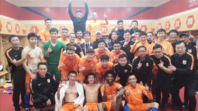 足协杯鲁能3-0一方晋级决赛