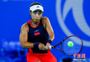 武汉网球公开赛:王蔷战胜普利斯科娃晋级16强