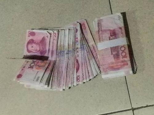 淄川一司机近4万现金放车内 车门没锁被偷走