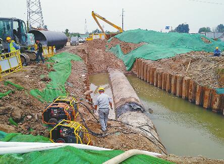 新输水管多粗?比姚明高14厘米