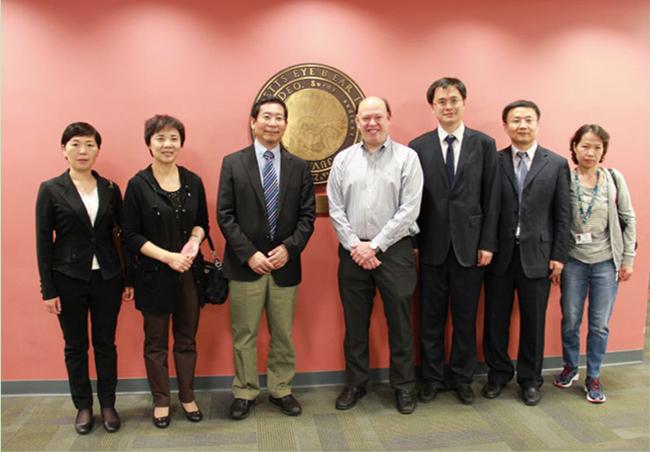 4与美国哈佛大学附属麻省眼耳医院建立医教研合作