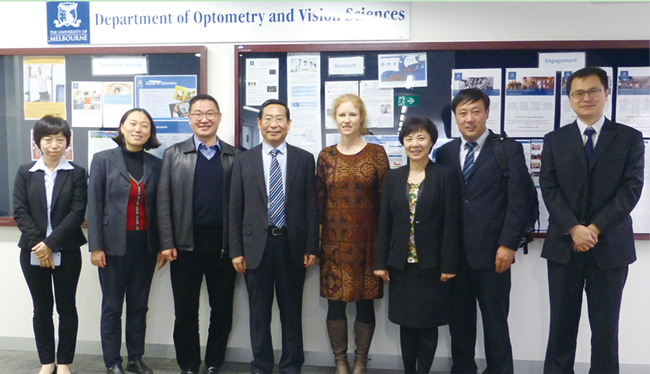 5与澳大利亚墨尔本大学建立医教研合作