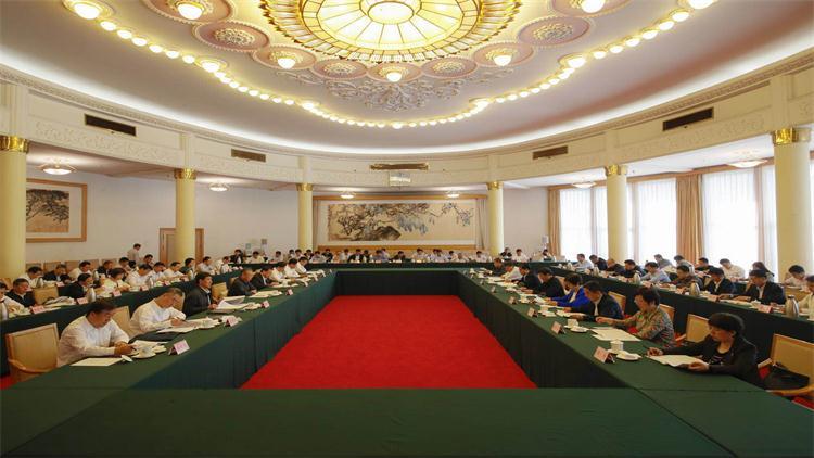 中央扫黑除恶第5督导组与山东省委第三次工作对接会在济南召开