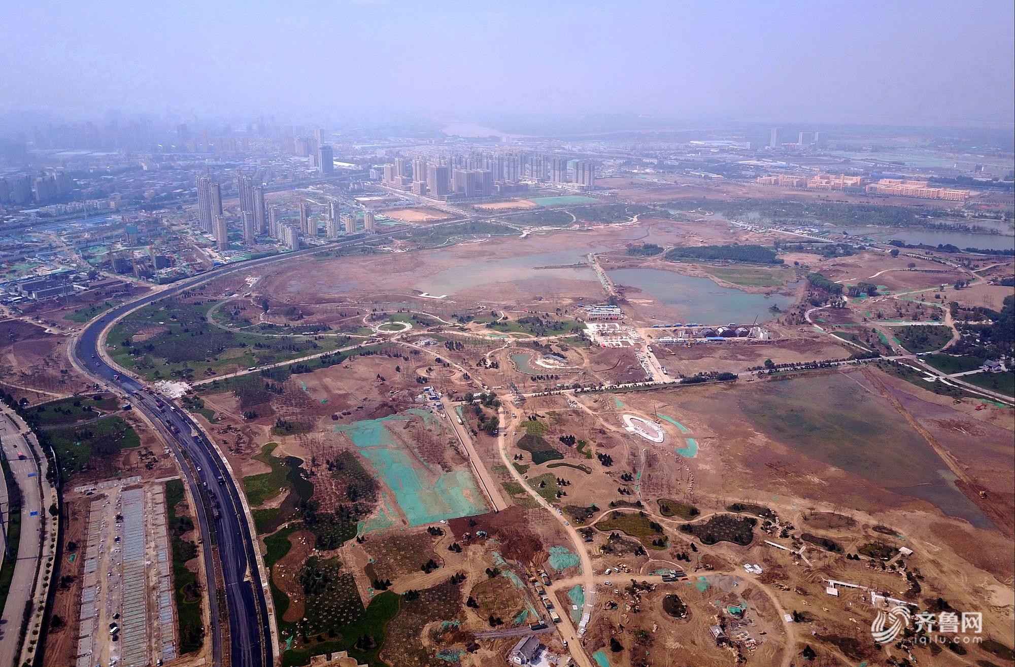 济南开挖上千亩华山湖 将再现历史名画《鹊华秋色图》胜景