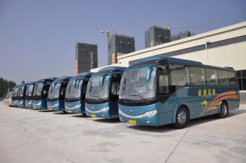 淄博整治旅游包车市场 70辆大巴被查处