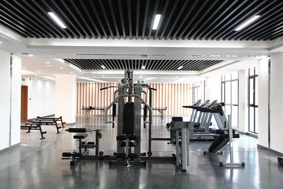 """比德文员工健身中心正式运营,""""中国好福利""""再升级~143"""