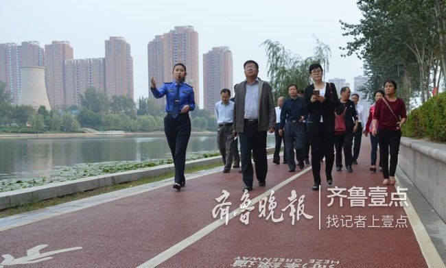 菏泽迎国家园林城市复查为市民营造更舒适的生活环境