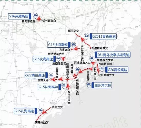 青岛交警发布攻略假期交通提示这份出行密室逃脱秘笈soho国庆图片