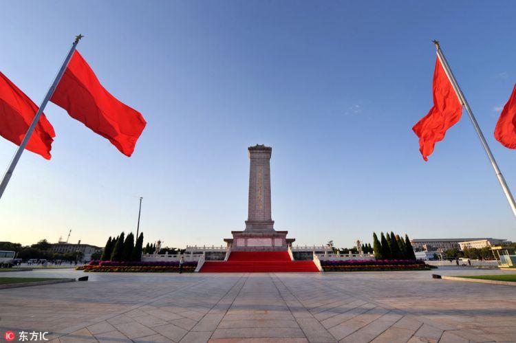 烈士纪念日在即天安门广场准备工作就绪 将举行向人民英雄敬献花篮仪式