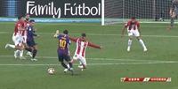 西甲-梅西助攻穆尼尔破门 巴萨1-1平毕尔巴鄂三轮不胜