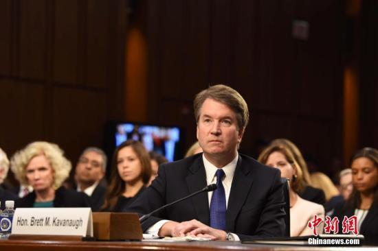 美国大法官提名人好友愿配合调查 否认性侵指控