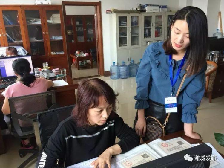 潍城区第四次经济普查单位入户清查工作全面铺开