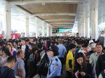 国庆迎来出行高峰!济南长途汽车总站旅客云集