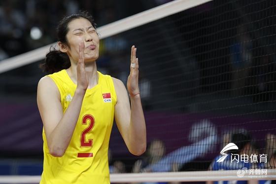 朱婷16分中国3-0力擒土耳其 世锦赛小组赛两连胜