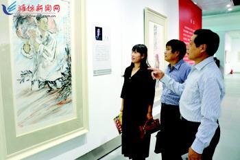 青州王坟村美丽家园救灾模范入画来
