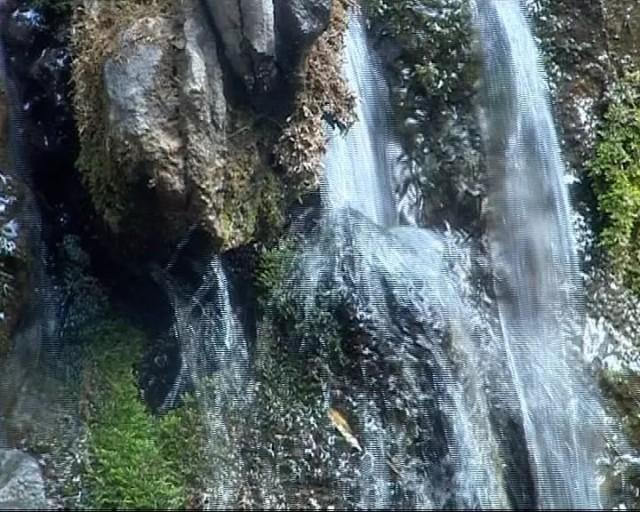 壁纸 风景 旅游 瀑布 山水 桌面 640_512