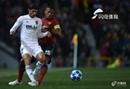 曼联0-0瓦伦西亚各项赛事4场不胜,拉什福德任意球中楣