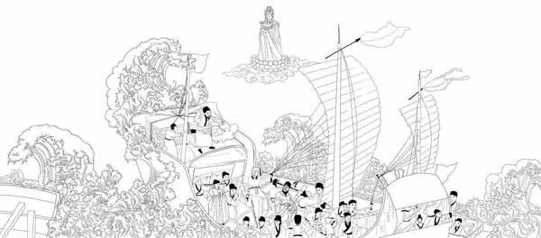 人文齐鲁|除了海上救难,妈祖在山东沿海还有兼职